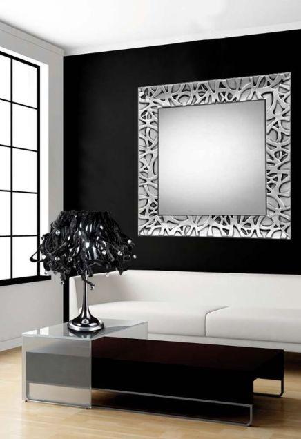 modern bright minimalist interior with furniture