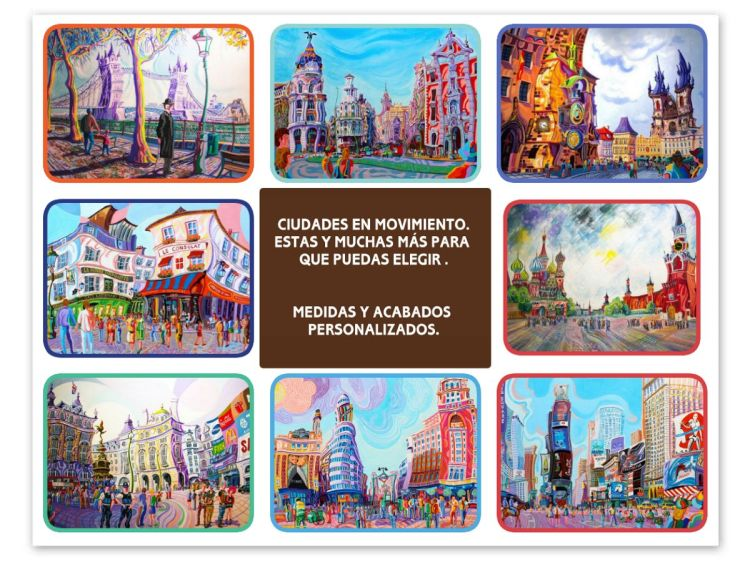 Collage ciudades